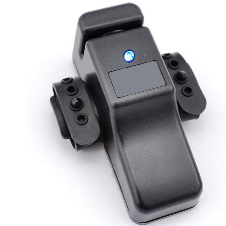Verline - Detector de mordisco para caña de pescar, led, tono de alarma alto y claro, con luz azul, montaje sencillo, ligero, pequeño, portátil: Amazon.es: ...