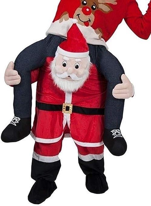 UBCM - Disfraz de Papá Noel para Llevar, Disfraz navideño: Amazon ...