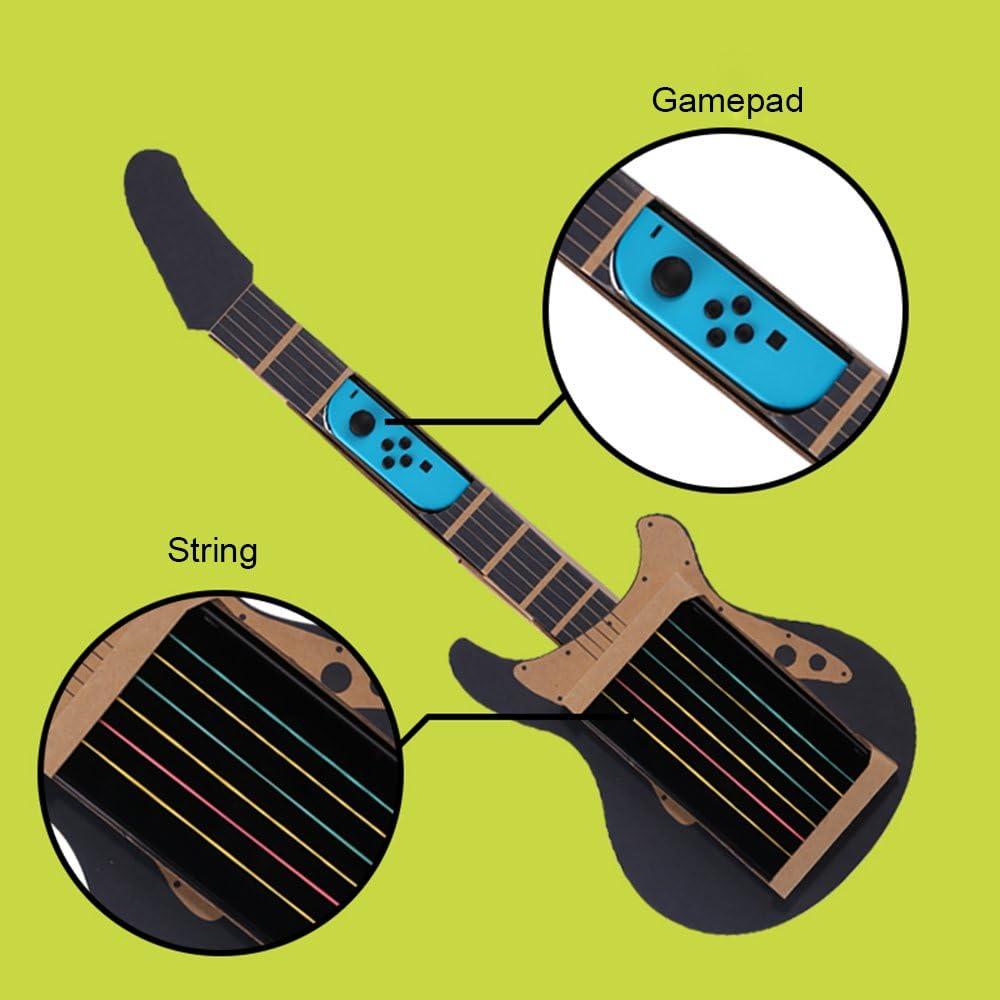 Amazon.es: Goolsky Labo DIY Caja de Cartón Soporte de la guitarra para Nintendo Switch