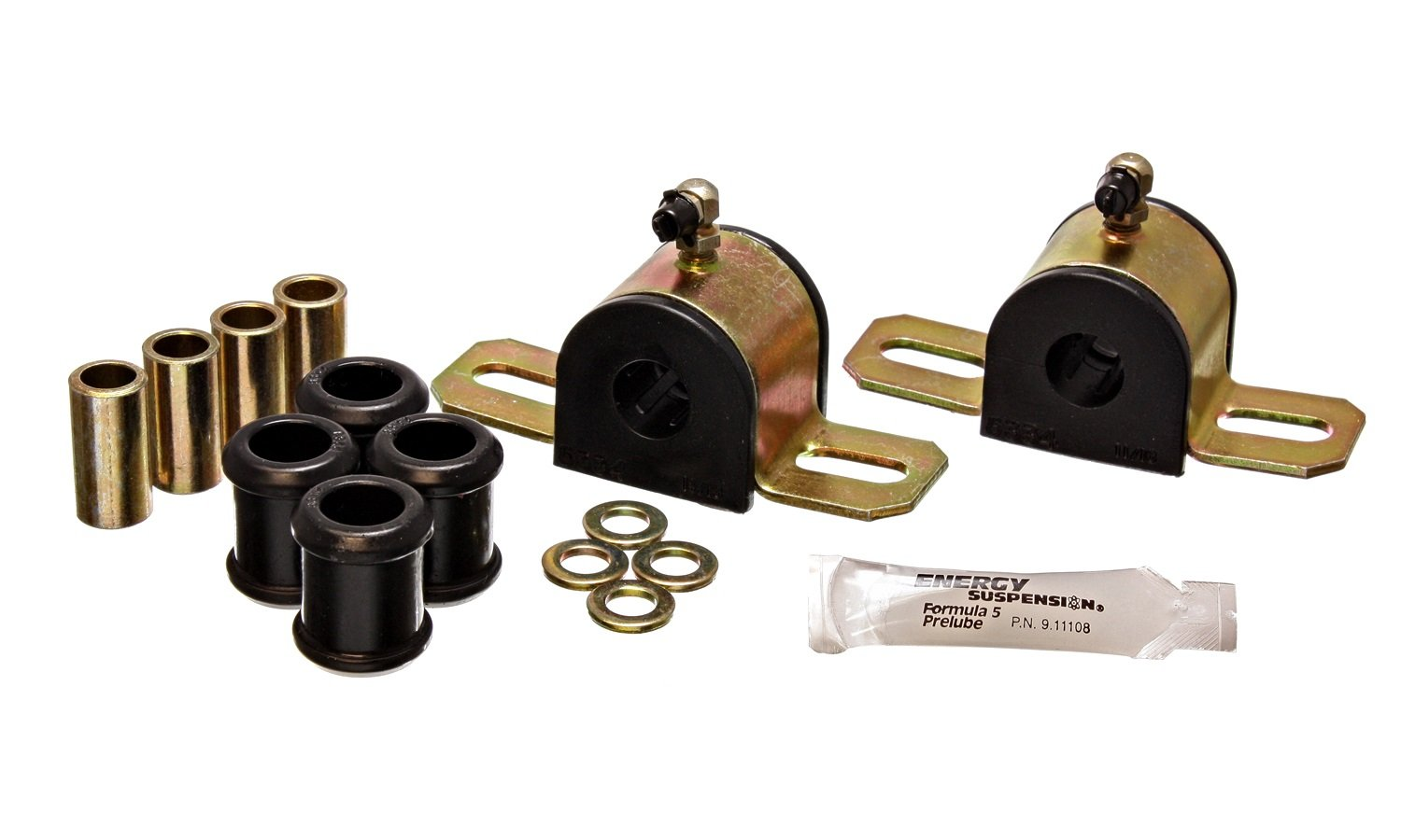 Energy Suspension 5.5173G REAR SWAY BAR BUSHING SET 17.5 MM by Energy Suspension