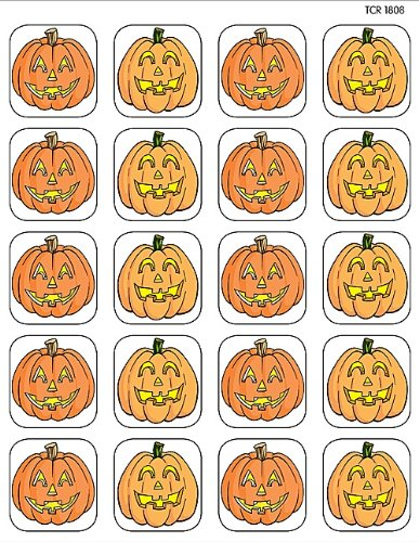 Teacher Created Resources Pumpkins Stickers
