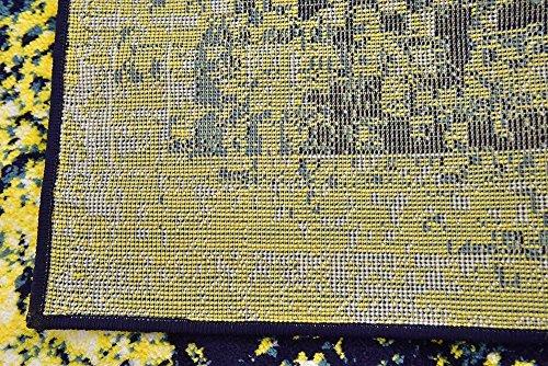 Unique Loom 3141655 Sofia Collection Area Rug, 6' x 9', Navy