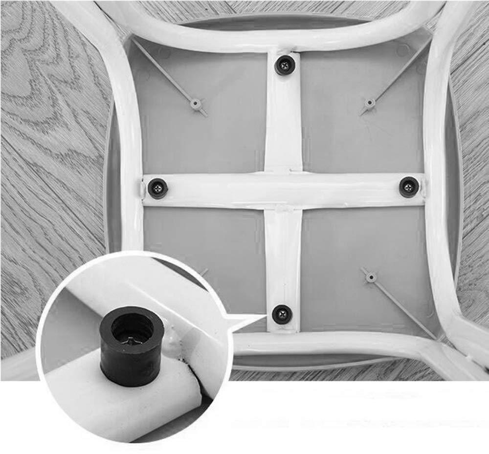 YXQ-* Mode kreatives Zuhause Esstisch hohen Hocker Kunststoffhocker Stuhl Gr/ö/ße: 29X29X45cm Farbe : Blau DREI Farben erh/ältlich