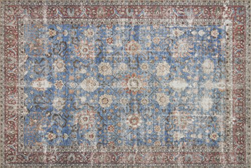 Loloi LORELQ-01BBBK160S Loren Collection Traditional Area Rug 1'-6