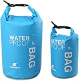 LUCKY STONE LuckyStone Coloured Drifting Waterproof Dry Bag For Boating, Kayaking, Fishing, Rafting, Swimming, Camping, Canoeing