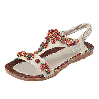 Femmes Sandales Plates Ete Chaussures Femme À Levifun BxedCo