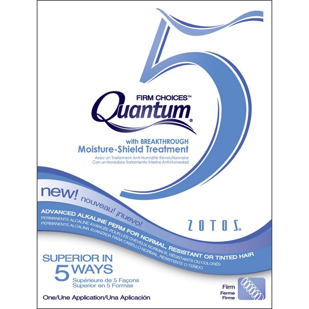5 Firm Choices Alkaline Perm ZOTOS-PIIDEA/QUANTUM