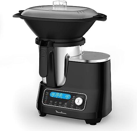 Moulinex ClickChef HF456810 - Robot de cocina multifunción con 5 ...