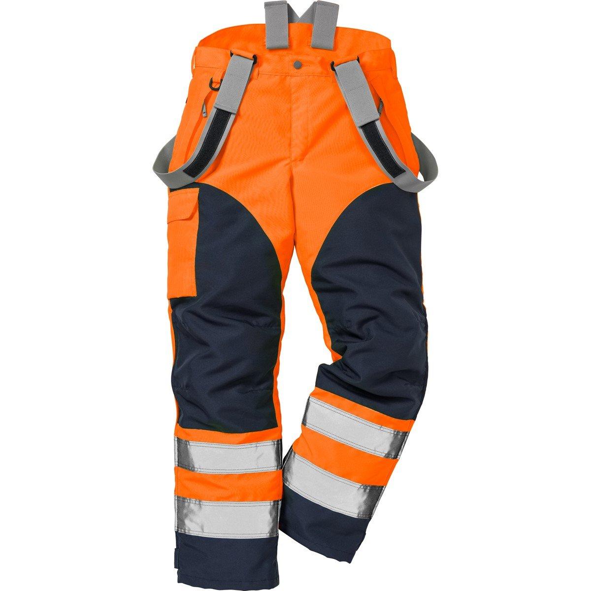 Fristads Kansas Workwear 100996 High Vis Shell Trousers