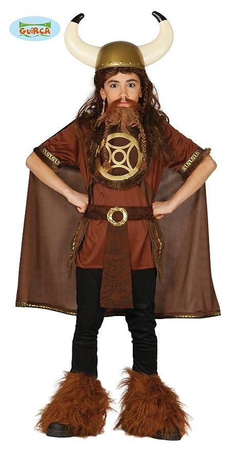 Disfraz de Vikingo infantil 7-9 años: Amazon.es: Juguetes y juegos