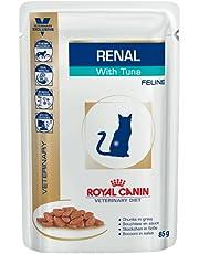 Royal Canin Renal avec le Thon Bouchées en sauce pour les chats (12 Sachets, 85 g)