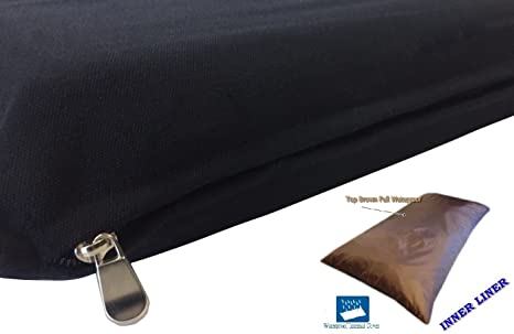 66060ad28c78c7 DIY Do It Yourself Durable Tough Black Canvas Pet Dog Bed Pillow Cover +  Internal Inner
