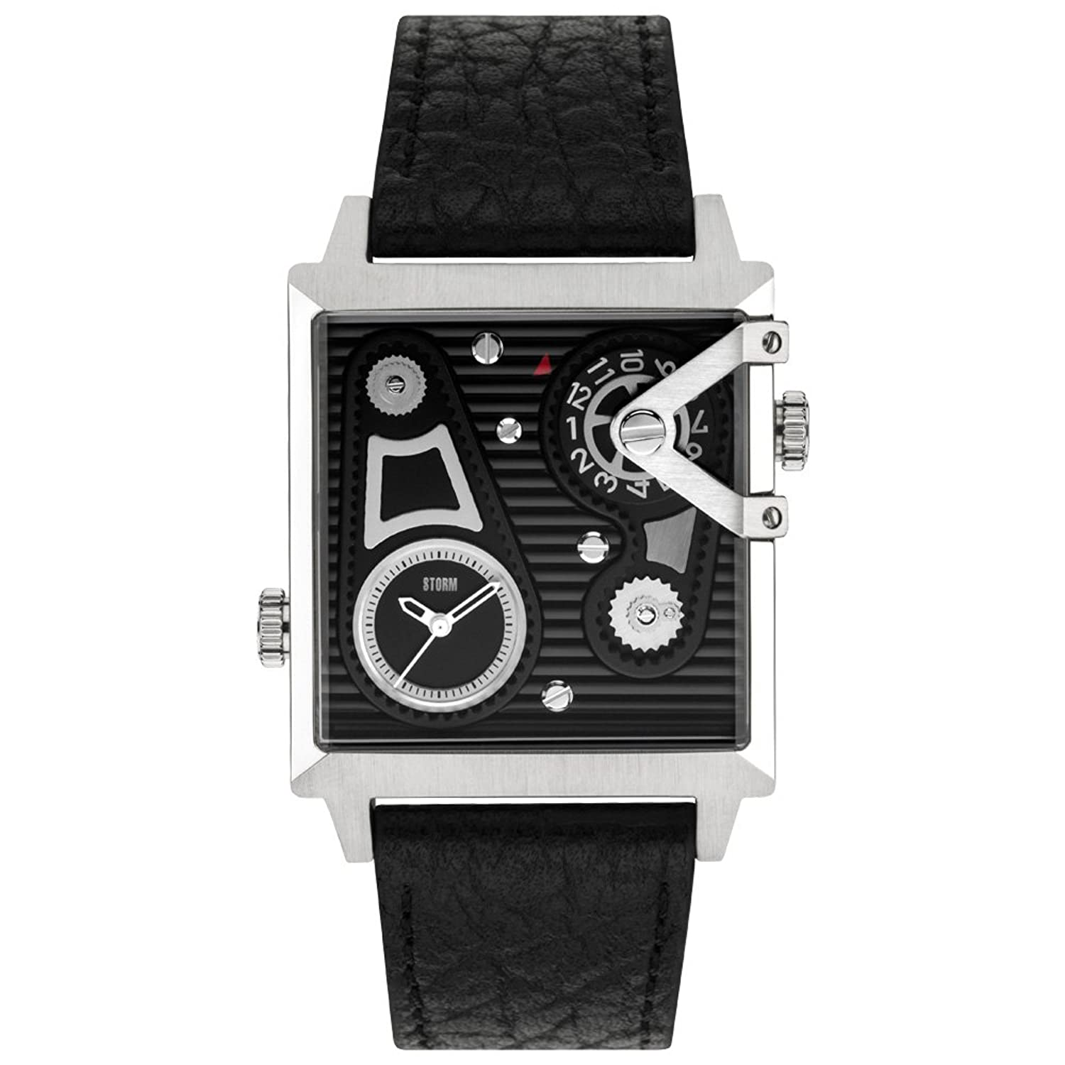 Storm Dual Square Black Herrenuhr 47201-BK