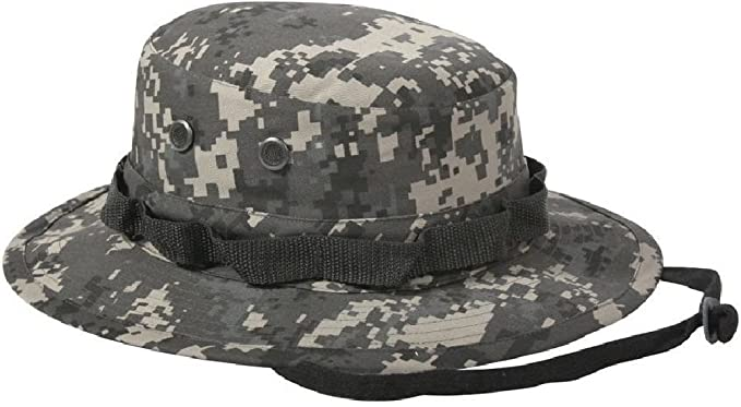 Image Unavailable. Image not available for. Color  Subdued Urban Digital  Camouflage Military Tactical Wide Bucket Boonie Hat 7dff85276c42