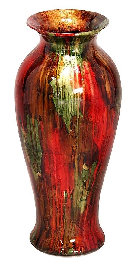 Amazon Heather Ann Creations Bohemian Decorative Ceramic Vase