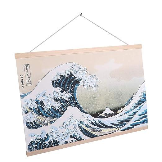 FLAMEER Pintura Colgante Estilo Japonesa Colecciones y ...