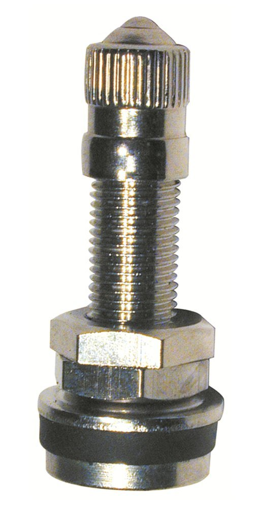 Plews /& Edelmann Tru-Flate 30-430-10 Clamp-in 1-3//16 Tubeless Motorcycle Tire Valves for .327 Dia Holes