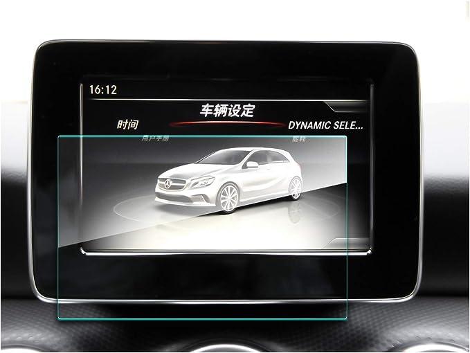 2014 2019 Mercedes Benz Gla Class X156 W117 Navigations Displayschutzfolie Hd 9h Gehärtetes Glas Mit Hoher