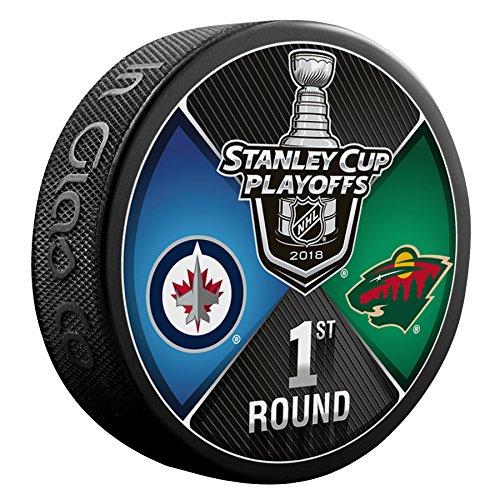 Inglasco 510AN004263 2018 Dueling Round 1 - Winnipeg Jets Vs Minnesota Wild, One Size, Black Inglas Co. Inc. - CA
