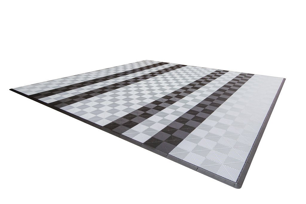 Dodge Double Car Parking Pad by Ribtrax - Pad Design 4