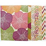 6 Pk. Useful Universe Promarx Olivia Portfolio, Two-Pocket File Folder, Up to 100 Sheets, Letter Size, Assorted Designs