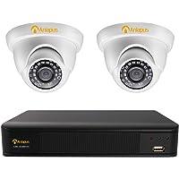 Anlapus 1080P Kit de Cámaras de Seguridad 4CH