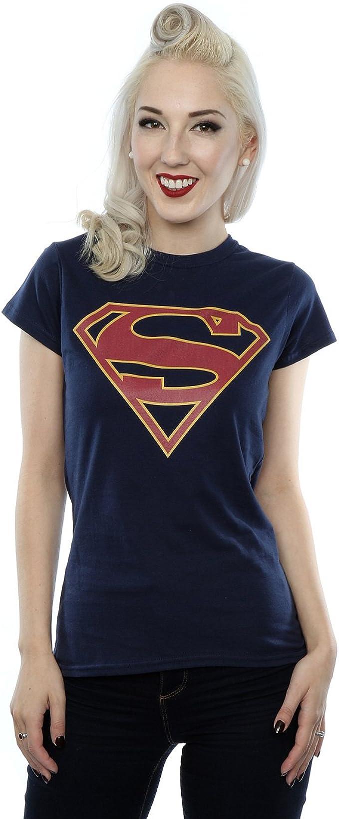 DC Comics Girls Supergirl Logo T-Shirt