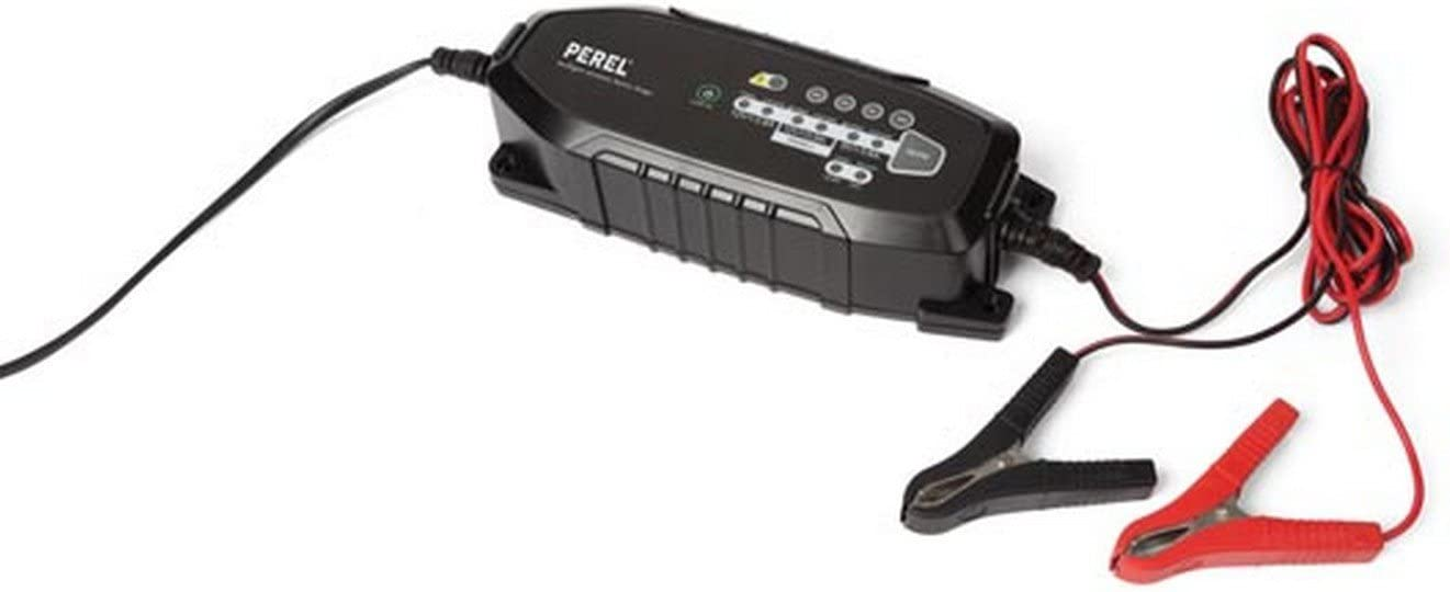 Perel AC38 Chargeur de voiture intelligent 6 V 12 V 3,8 A