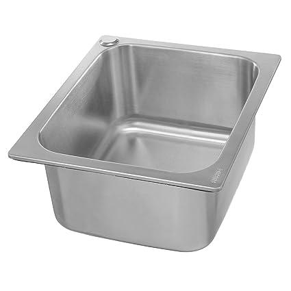 Lovinn - Fregadero de cocina (acero inoxidable 304, para ...