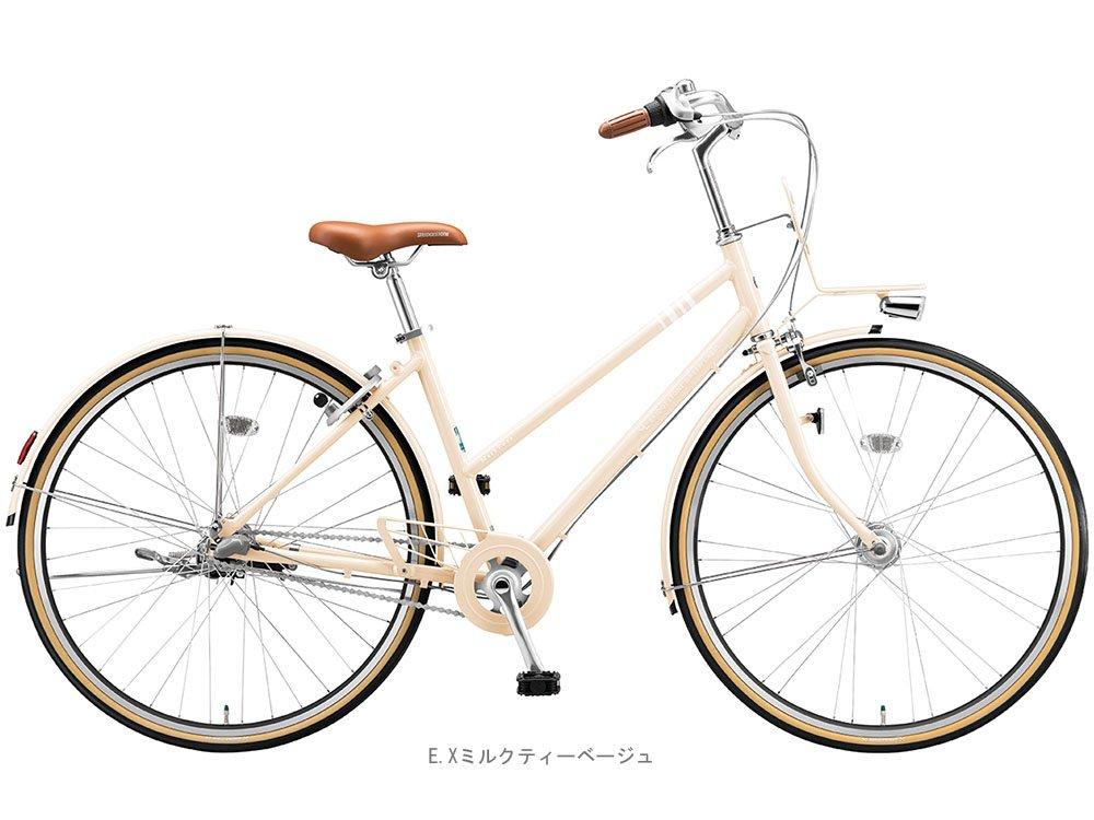 ブリヂストン(BRIDGESTONE) マークローザ3S内装3段27インチ MRS73T クロスバイク 450mm EXミルクティーベージュ 3552 B01MQWNI9B