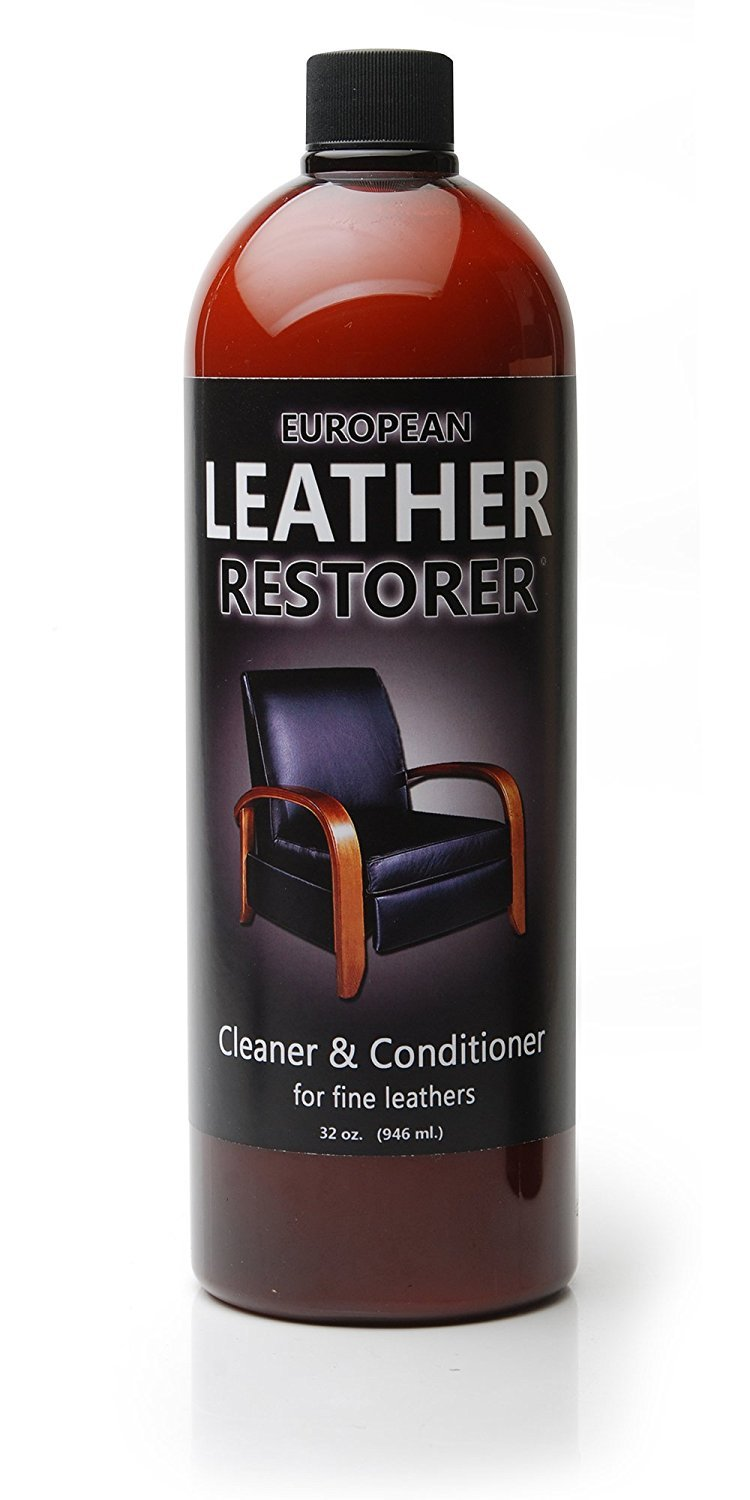 Leather jacket cleaner and conditioner - Amazon Com European Leather Restorer The Best One Step Leather Conditioner And Cleaner 16 Ounce Bottle Automotive