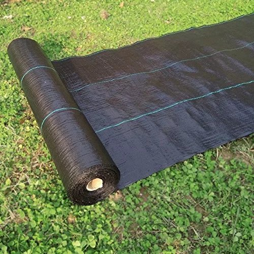 Originline 3.2 Oz Premium Weed Control Fabric Ground Cover Weed Barrier Eco-Friendly for Vegetable Garden Landscape,6x330ft,Black) by Originline (Image #2)