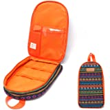 NatSumeBasics Camping Travel Cooking Utensils Organizer Travel Bag Portable Pouch for BBQ Camp Cookware Kitchen Kit