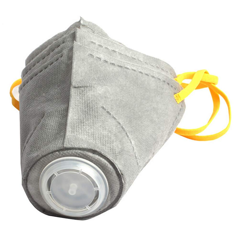 WensLTD Hot ! 3Pcs Dog Soft Cotton Mouth Mask Pet Respiratory PM2.5 Filter Anti Dust Masks (S, Gray) by WensLTD-Pet Supplies (Image #3)