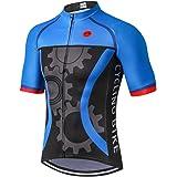 Weimostar Summer Men's Bicycle Short Sleeve Jersey Top