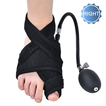 DOACT Bunion Corrector Brace with Pneumatic Bunions Splints for Women and Men, Big Toe Straightener