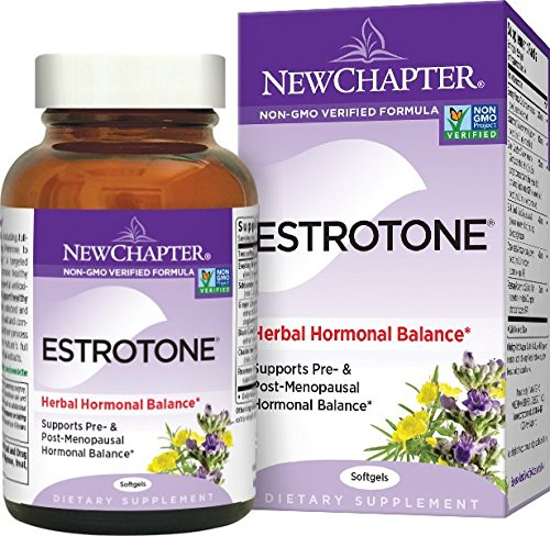 Organic Estrotone by New Chapter, 60 Softgels
