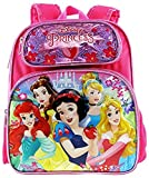 """Disney Princesses 12"""" Embossed Backpack with Matching Insulated Lunch Tote"""