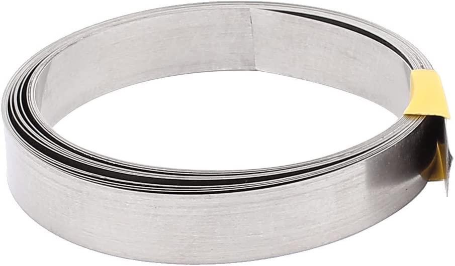 uxcell 3Meter 10Ft 0.2x12mm Nichrome Flat Heater Wire for Heating Elements