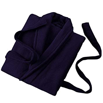 GX Albornoz de Tejido Suave de Color Liso, Batas de SPA súper absorbentes y de Secado rápido para Damas y Caballeros,Black,XL: Amazon.es: Hogar