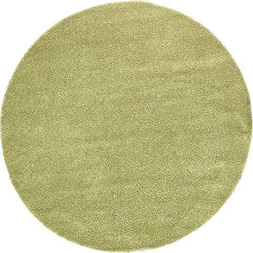 Green 8' Round Area Rug - 5