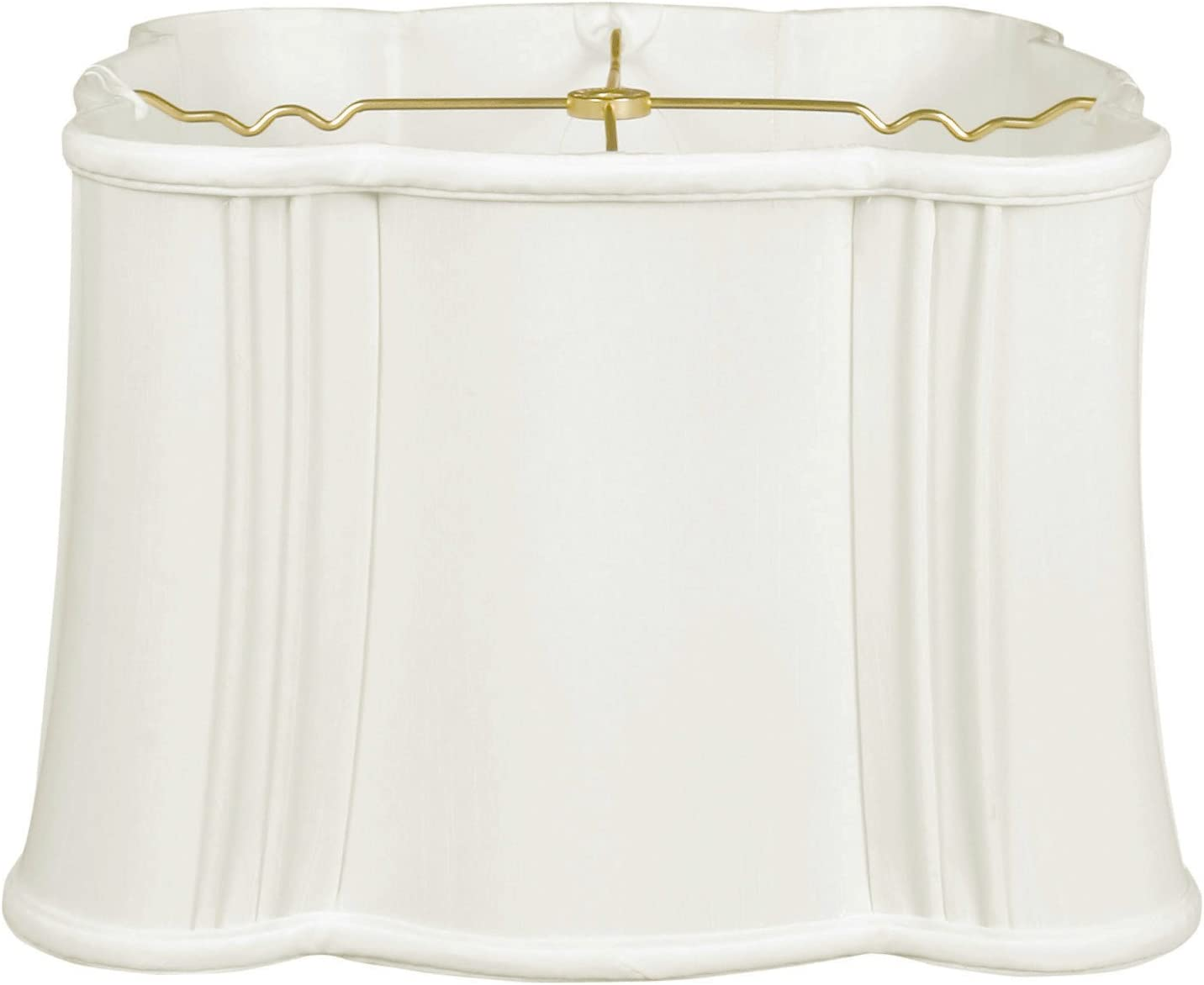 Royal Designs, Inc BS-401-17WH lampshades, 16 x 17 x 10.5, White