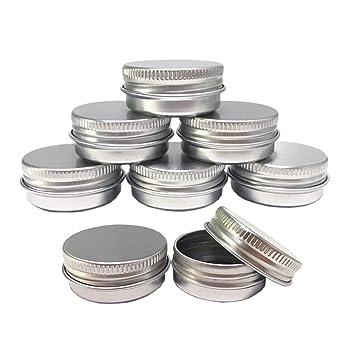 Amazon.com: Tarros de lata de aluminio, muestra de ...
