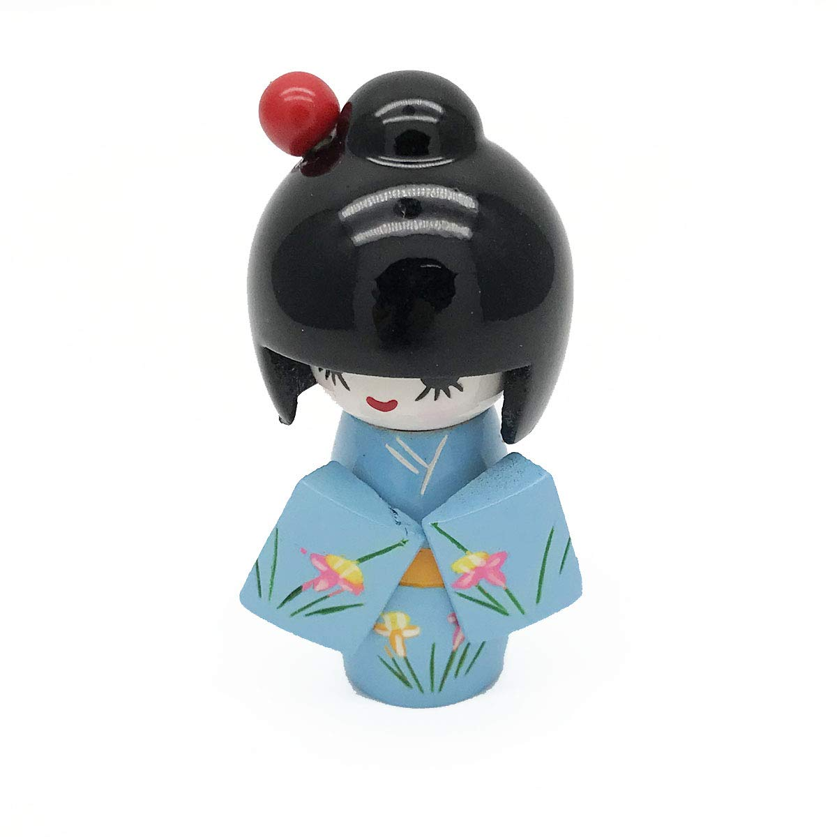 Amazon.com: XMHF - Muñeca de madera, estilo japonés, color ...