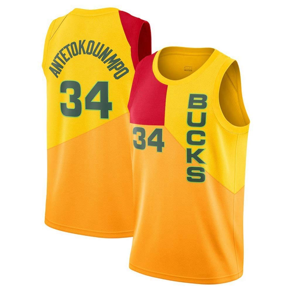 premium selection 1fc4d 805fc Men Basketball Jerseys-Basketball T-Shirt Milwaukee Bucks ...