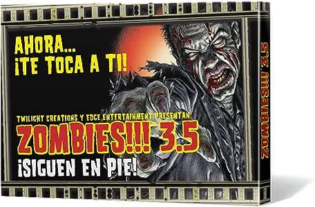 Edge Entertainment- Zombies. 3.5: ¡siguen en pie. - español, Color (EDGTC35): Amazon.es: Juguetes y juegos