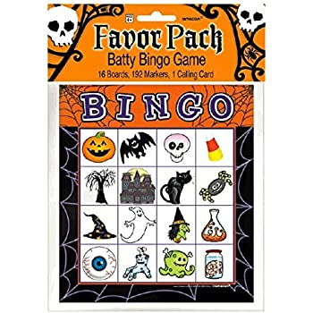 Math Worksheets halloween math worksheets grade 3 : Amazon.com: Halloween Bingo Game for 16 players: Kitchen & Dining