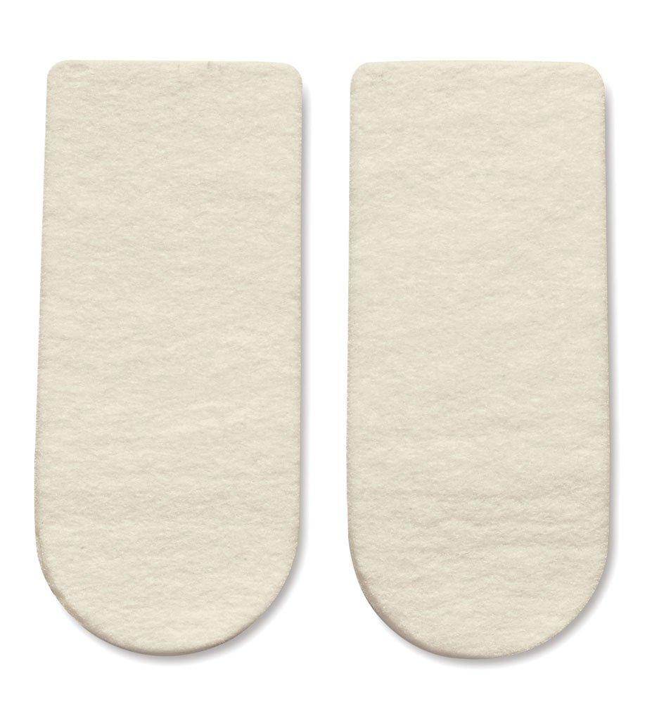 HAPAD 3/4 Length Heel Wedges, Medium, 3x7/16 inch, case of 12 pairs
