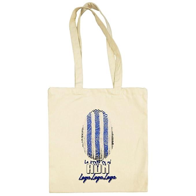 Bolsa de tela lo tengo en mi ADN Leganés fútbol - Beige, 38 x 42 cm: Amazon.es: Ropa y accesorios