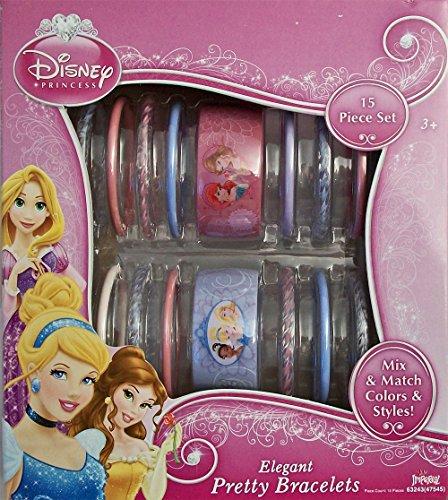 (Disney Princess Elegant Pretty Bracelets 15 Piece Set)